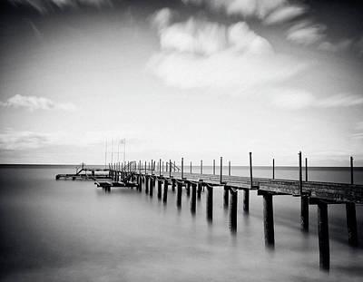 Photograph - Old Pier by Temizyurek