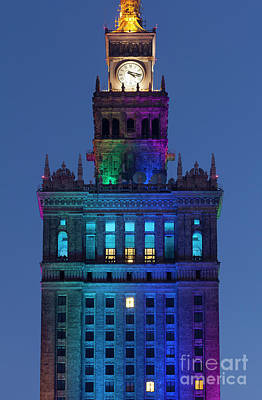 Animal Portraits Royalty Free Images - Palace of Culture and Science, Warsaw, Poland Royalty-Free Image by Francisco Javier Gil Oreja