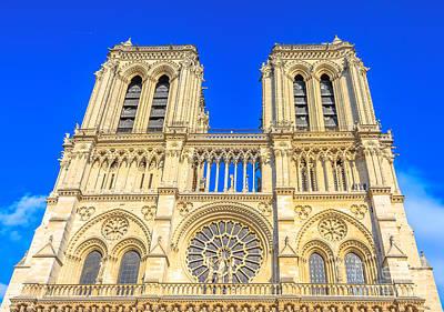 Photograph - Paris Notre Dame by Benny Marty