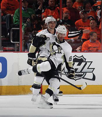 Pittsburgh Penguins V Philadelphia Art Print