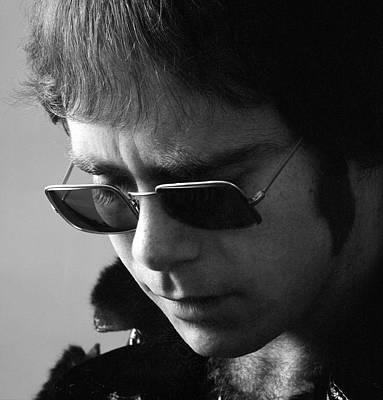 Photograph - Portrait Of Elton John by Jack Robinson