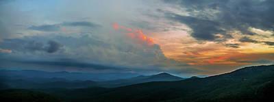 Photograph - Rough Ridge Overlook Viewing Area Off Blue Ridge Parkway Scenery by Alex Grichenko