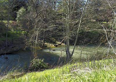 Firefighter Patents - Santa Rosa Creek by Richard Thomas