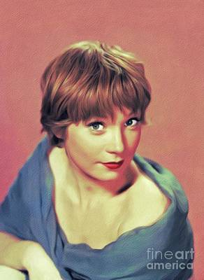 Royalty-Free and Rights-Managed Images - Shirley MacLaine, Hollywood Legend by John Springfield
