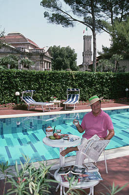 Photograph - Sirio Maccioni by Slim Aarons