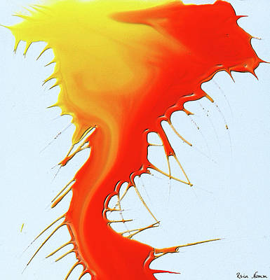 Painting - Splat by Rein Nomm