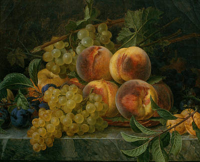 Painting - Still Life by Francisco Lacoma y Fontanet