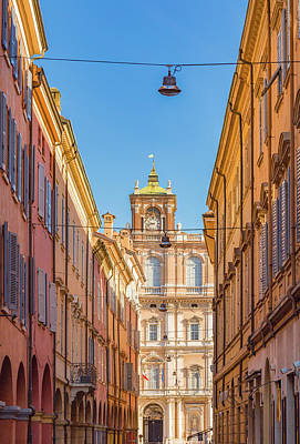Owls - The colorful buildings of Modena by Vivida Photo PC