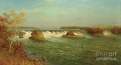 Painting - The Falls Of Saint Anthony by Albert Bierstadt