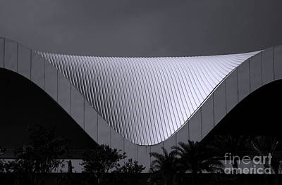 Photograph - The New Center For The Performing Arts by Yali Shi