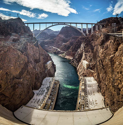 Caravaggio - Wandering Around Hoover Dam On Lake Mead In Nevada And Arizona by Alex Grichenko