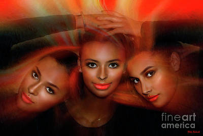 Photograph - 3 Way Beauty by Blake Richards
