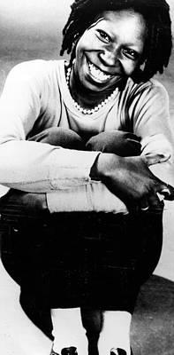Photograph - Whoopi Goldberg by Afro Newspaper/gado