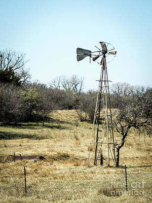 Photograph - Windmill by Cheryl McClure