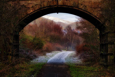 Photograph - Winter Walk In Scotland by Jeremy Lavender Photography