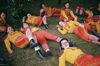Photograph - Womens Football by Michael Ochs Archives