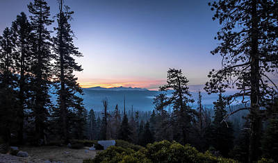 Photograph - Yosemite National Park Early Moring Sunrise Views by Alex Grichenko