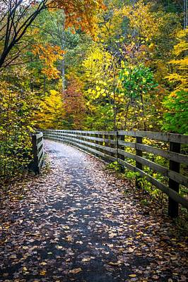 Beverly Brown Fashion Rights Managed Images - Scenic views along virginia creeper trail Royalty-Free Image by Alex Grichenko