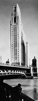 Photograph - 333 North Michigan Avenue by Chicago History Museum