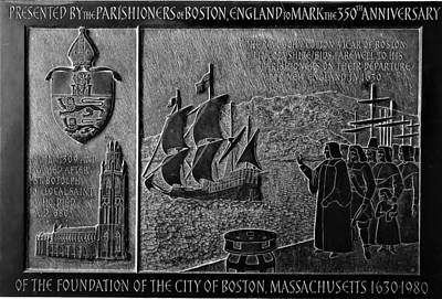 Photograph - 350 Years Of Boston by Rob Hans