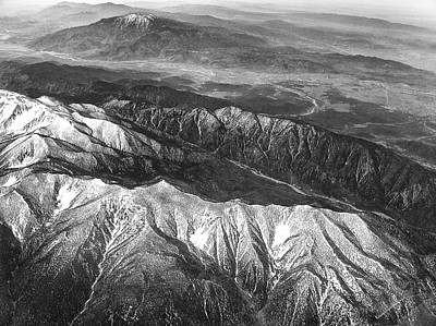35,000 Feet Over Utah Art Print