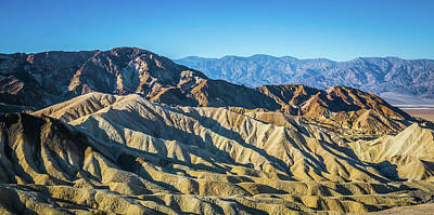 Photograph - Death Valley National Park Scenes In California by Alex Grichenko