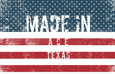 Travel Rights Managed Images - Made in Ace, Texas #Ace #Texas Royalty-Free Image by TintoDesigns