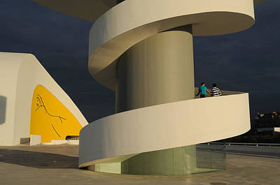 Pop Art -  Niemeyer Center - Spain by Carlos Mora