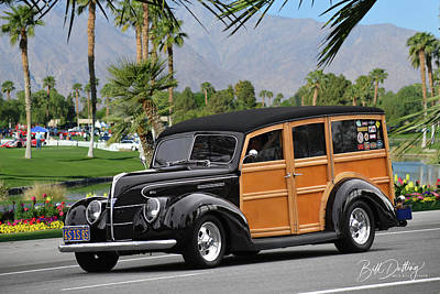 Photograph - 39 Woodie by Bill Dutting