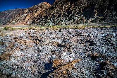 Photograph - Badwater Basin Death Valley National Park California by Alex Grichenko