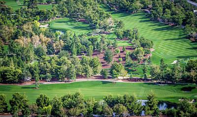 Photograph - Beautiful Aerial Of A Golf Resort In Las Vegas Nevada by Alex Grichenko