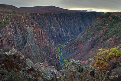 Photograph - Black Canyon Of The Gunnison Pulpit Rock View by Richard Raul Photography