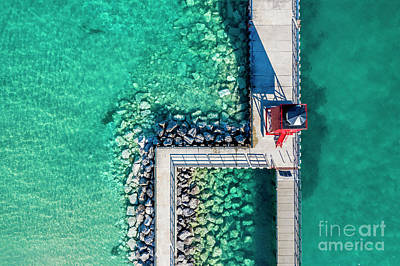 Royalty-Free and Rights-Managed Images - Charlevoix Aerial by Twenty Two North Photography