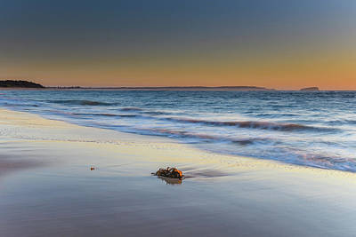 Photograph - Clear Skies Sunrise Seascape by Merrillie Redden