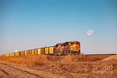Photograph - Coal Train by Jim West