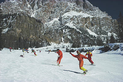 Cortina Dampezzo Art Print by Slim Aarons