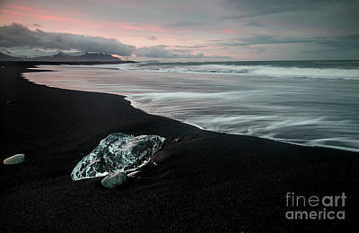 Wall Art - Photograph - Diamond Beach Iceland by Sebastien Coell