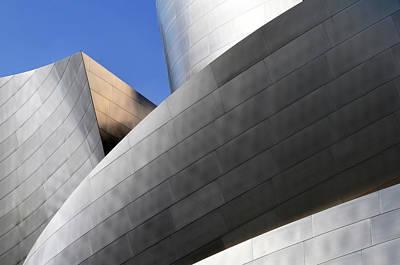 Photograph - Disney Concert Hall by Mitch Diamond
