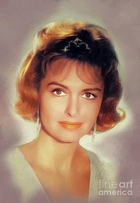 Royalty-Free and Rights-Managed Images - Donna Reed, Vintage Actress by Esoterica Art Agency