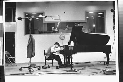 Scoring Photograph - Glenn Gould by Gordon Parks