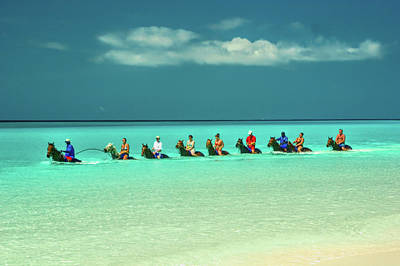 Royalty-Free and Rights-Managed Images - Half Moon Cay, Bahamas beach scene by David Smith