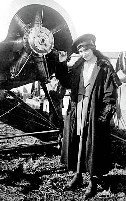Photograph - Katherine Stinson, American Aviatrix by Science Source