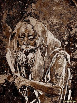 Lubavitcher Rebbe Art Print by Miriam haya Elbaz