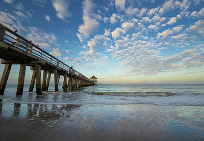 Photograph - Naples Pier by Bill Martin