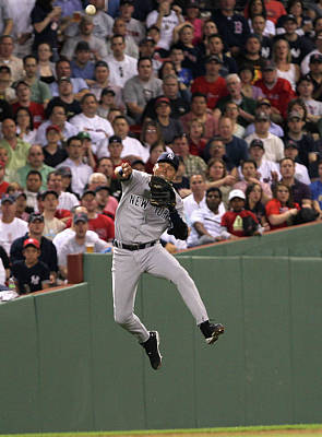 Photograph - New York Yankees V Boston Red Sox by Jim Rogash