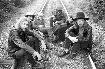 Music Photograph - Photo Of Allman Brothers by Michael Ochs Archives