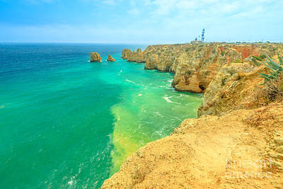 Photograph - Ponta Da Piedade Lighthouse by Benny Marty