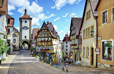 Photograph - Rothenburg Ob Der Tauber by Anthony Dezenzio