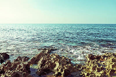 Photograph - Sea Landscape by Nosystem Images