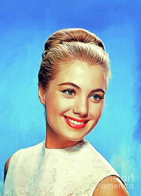 Royalty-Free and Rights-Managed Images - Shirley Jones, Vintage Actress by Esoterica Art Agency